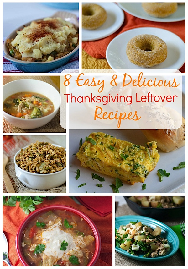 8 Thanksgiving Leftover Recipes