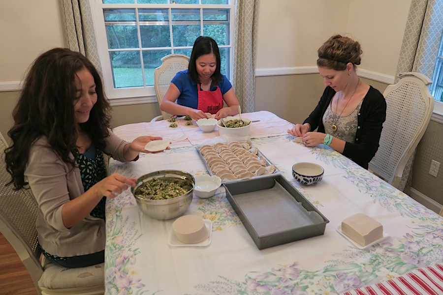 Dumpling Making Team Building 2015