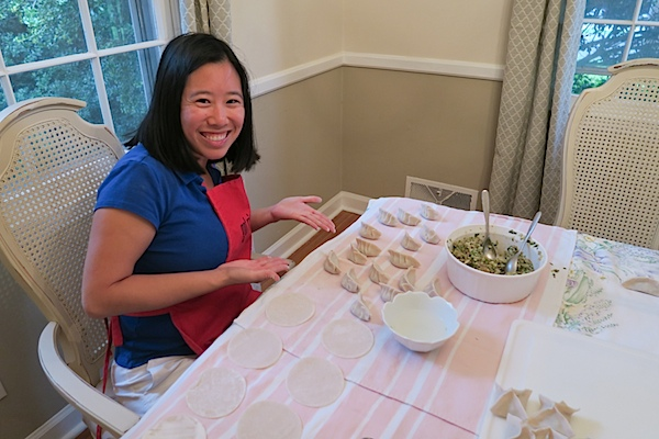 Dumpling Making Team Building