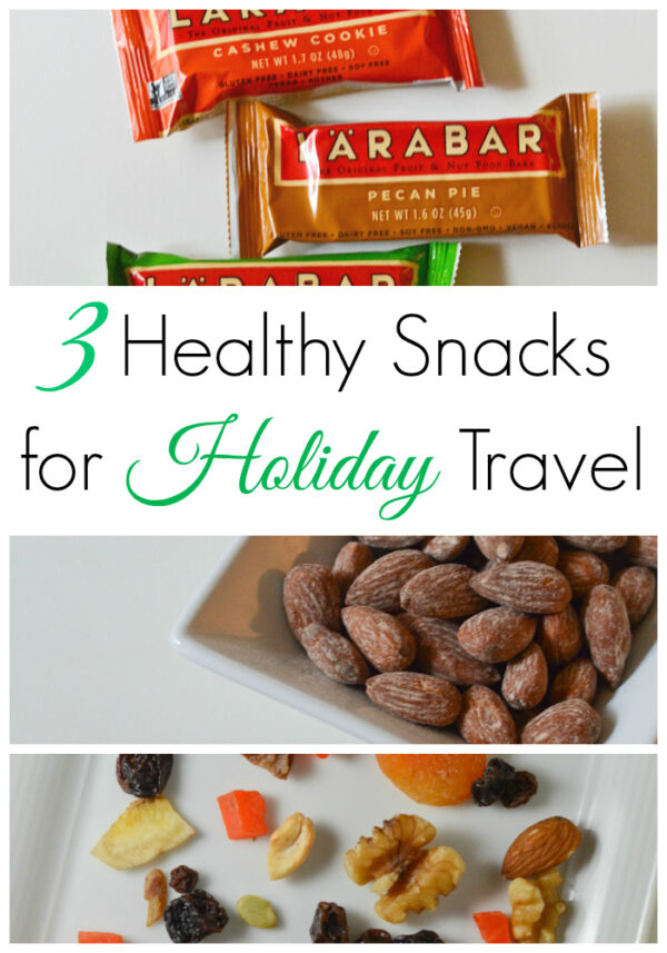 3 Healthy Snacks to Pack This Holiday Season