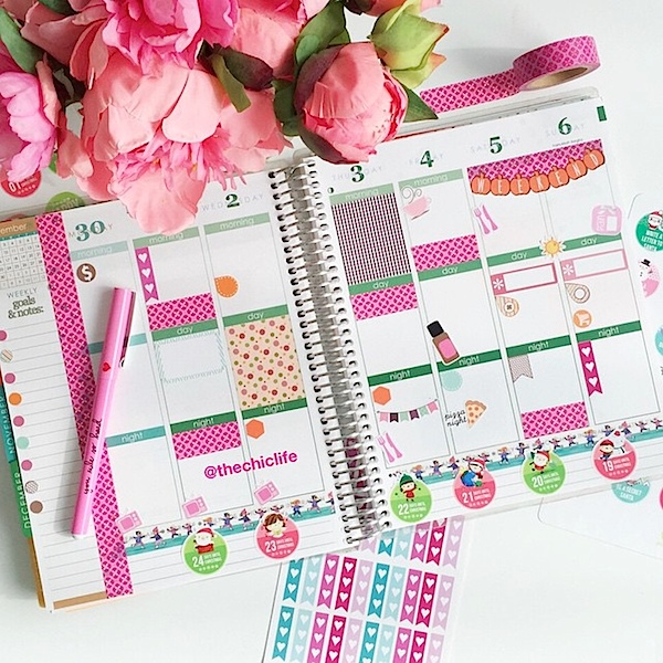 Planner Decoration Ideas: December 2015 (Erin Condren Vertical)
