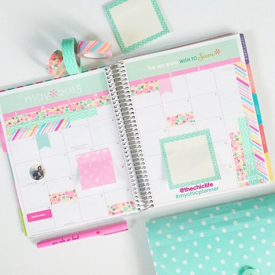 Planner Decoration Ideas: May 2015 (Erin Condren Vertical