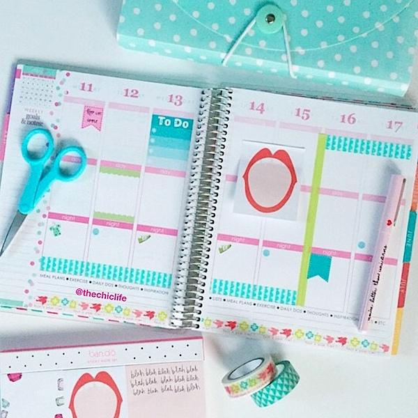 Planner Decoration Ideas: May 2015 (Erin Condren Vertical)