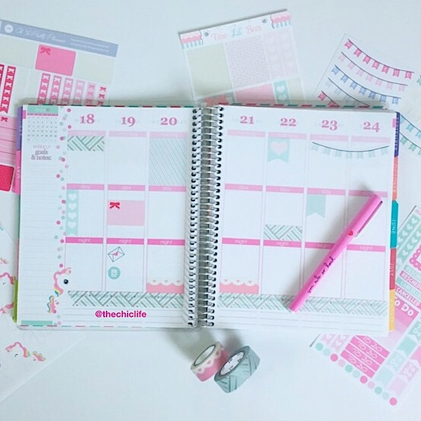 Planner Decoration Ideas: May 2015 (Erin Condren Vertical)