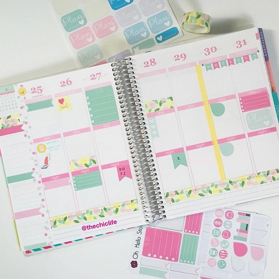 Planner Decoration Ideas May 2015 Erin Condren Vertical