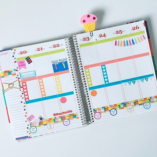 Planner Decoration Ideas: July 2015 (Erin Condren Vertical)