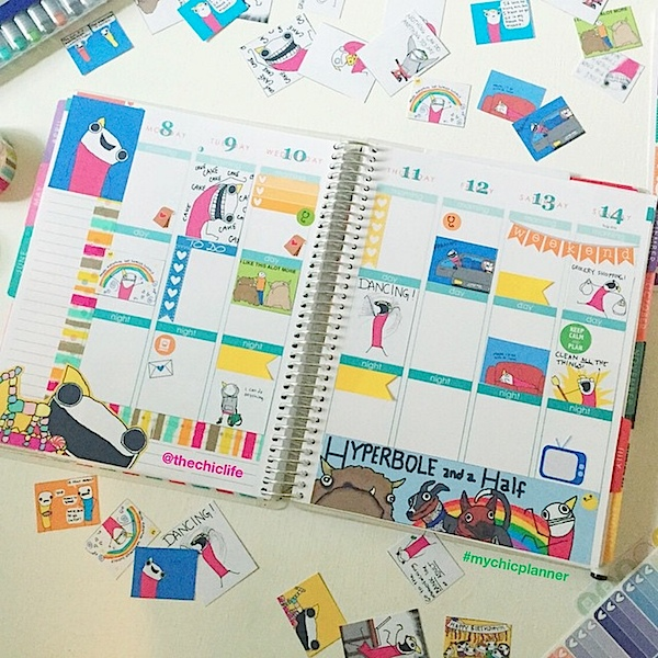 Planner Decoration Ideas: June 2015 (Erin Condren Vertical)