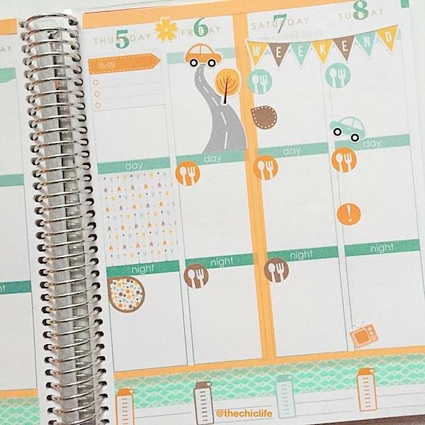 Planner Decoration Ideas: November 2015 (Erin Condren Vertical)