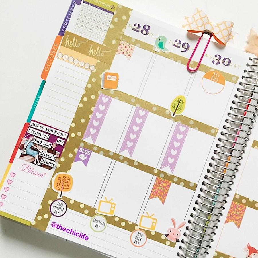 Planner Decoration Ideas: October 2015 (Erin Condren ...