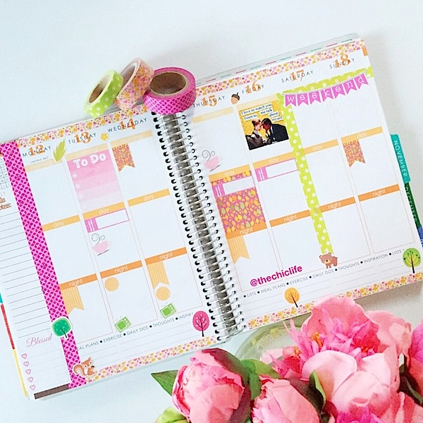 Planner Decoration Ideas: October 2015 (Erin Condren Vertical)