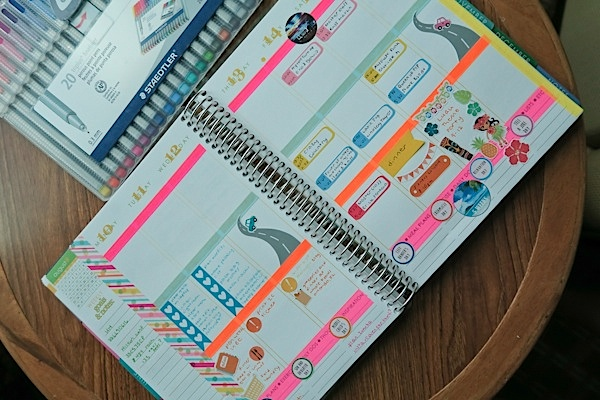 Planner Decoration Ideas: August 2015 (Erin Condren Vertical)