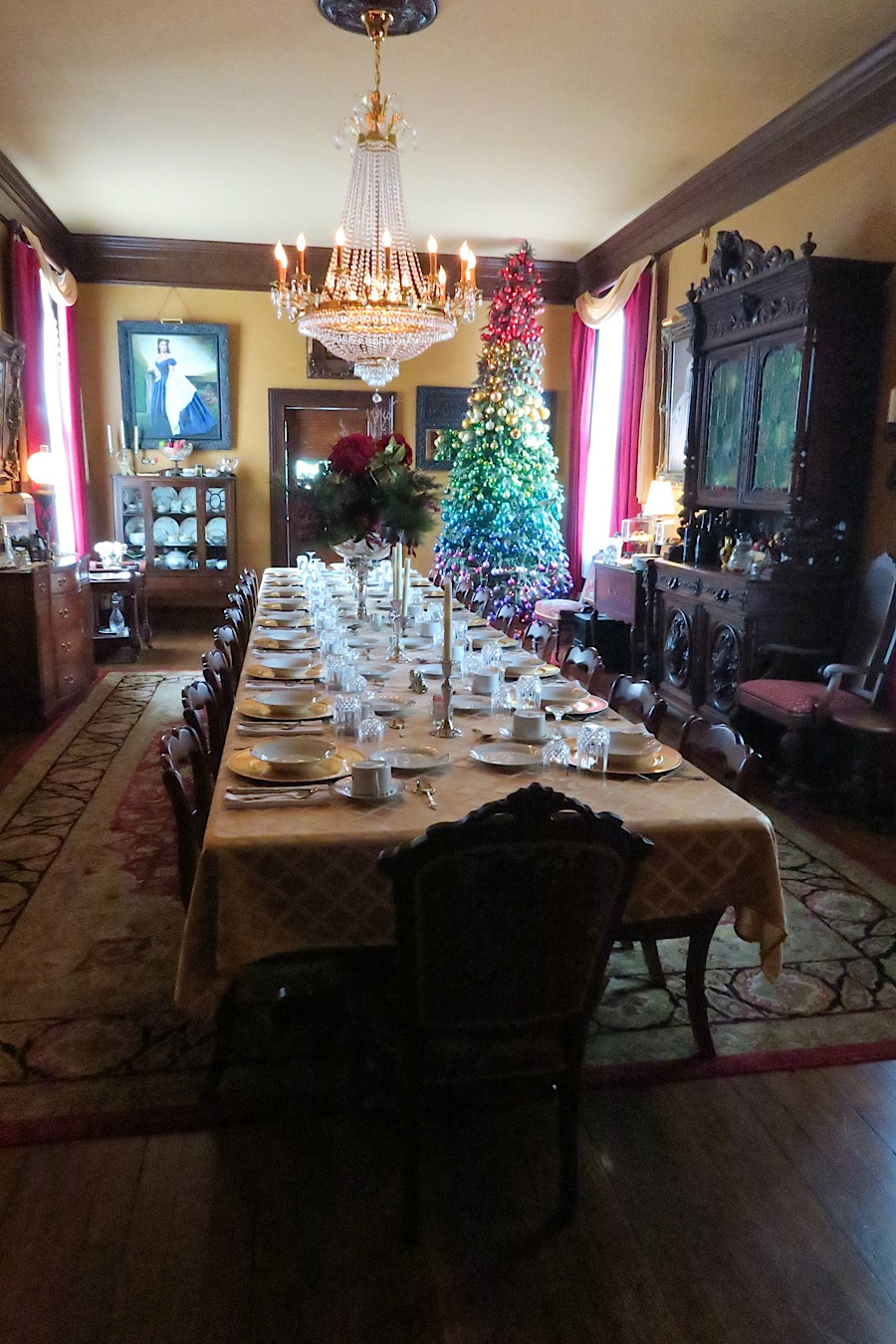 Asheville Team Trip Day 1 Reynolds Mansion At Christmas And