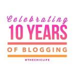 Celebrating 10 Years of Blogging