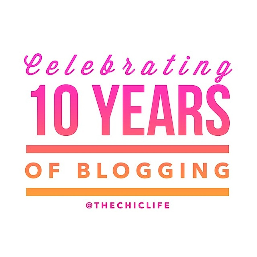 Celebrating 10 Years of Blogging