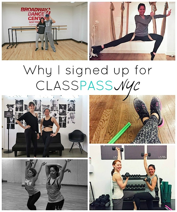 Why I Signed Up for ClassPass NYC