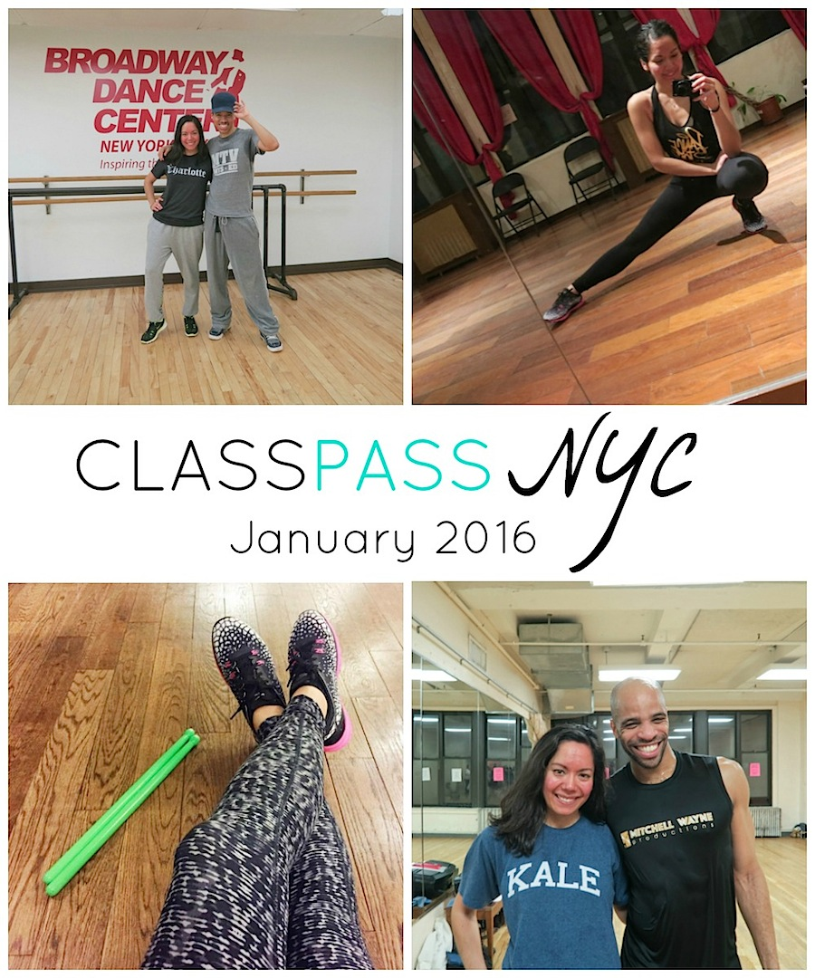 ClassPass NYC: My January 2016 Month Recap