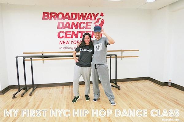 My First NYC Hip Hop Dance Class