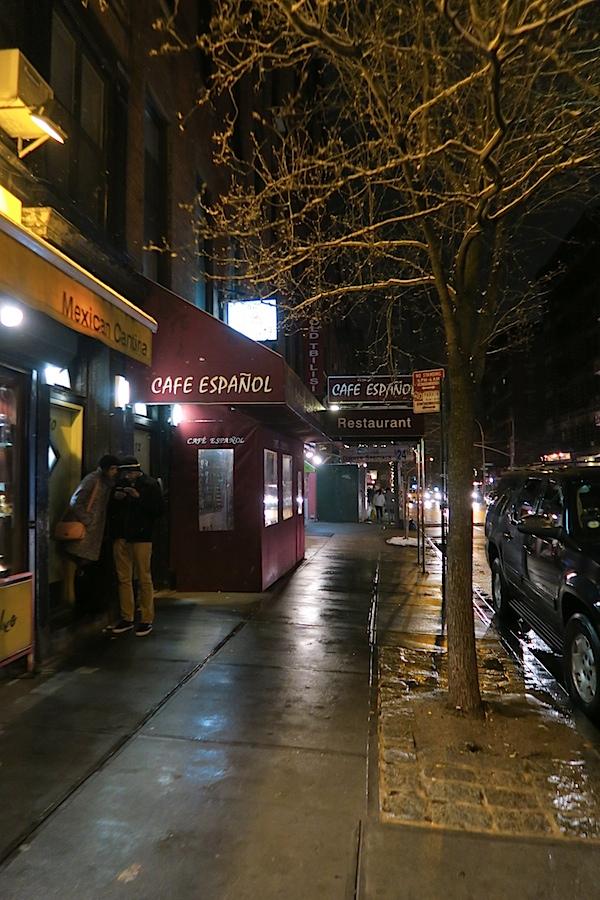 Café Español Tapas and Comedy Cellar NYC