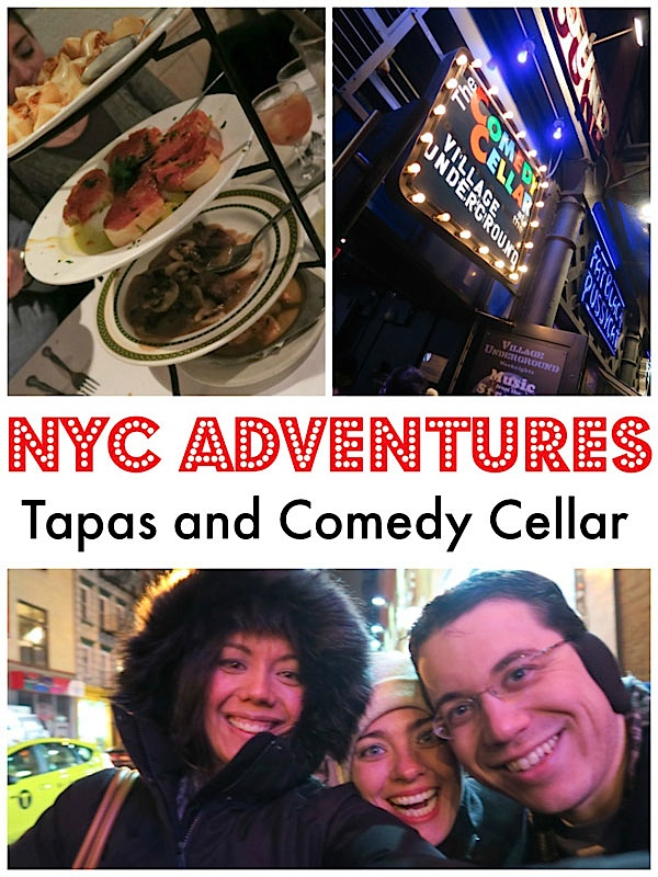 Café Español Tapas and Comedy Cellar NYC