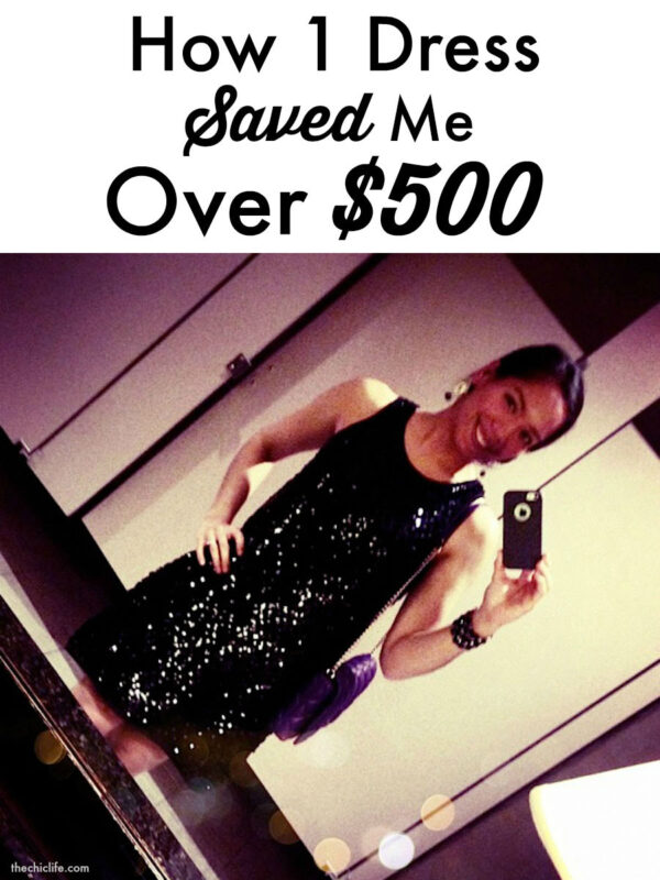 How 1 Dress Saved Me Over $500