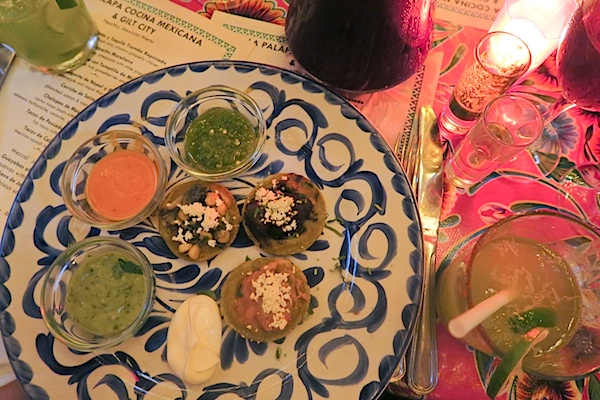 Healthy Mexican Blogger Dinner NYC with La Palapa and Gilt City