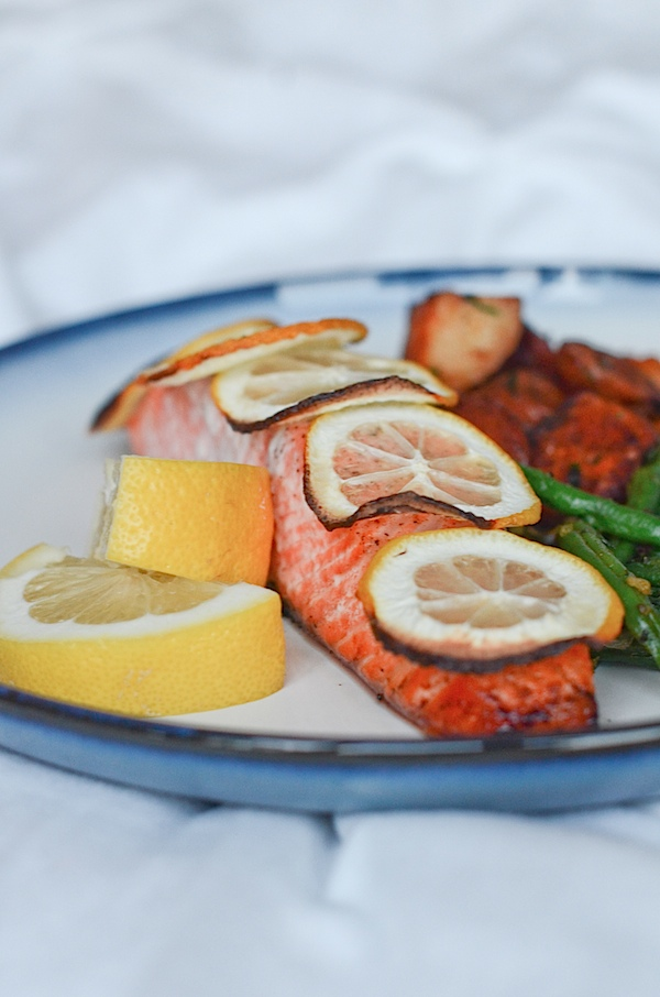 Lemon Baked Salmon Recipe