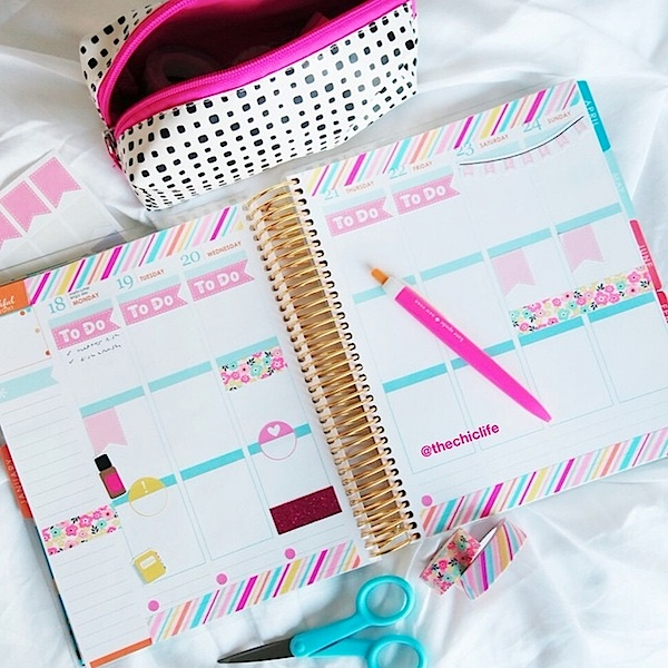Planner Decorations January 2016