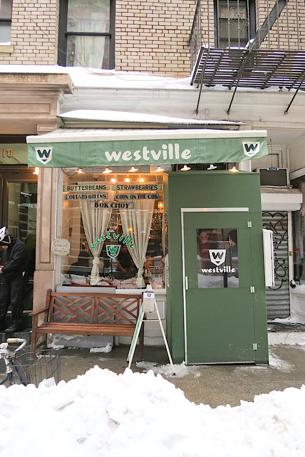 Lunch at Westville West Village NYC