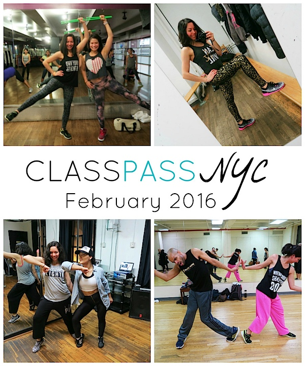 ClassPass NYC: My February 2016 Month Recap