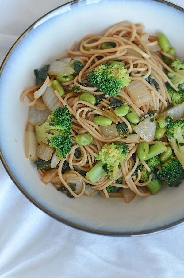 Quick Vegetarian Noodle Stir Fry