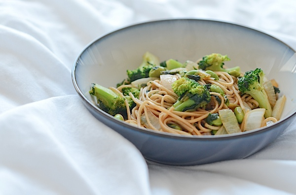 Quick Vegetable Noodle Stir Fry Recipe