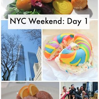 NYC Weekend: Day 1