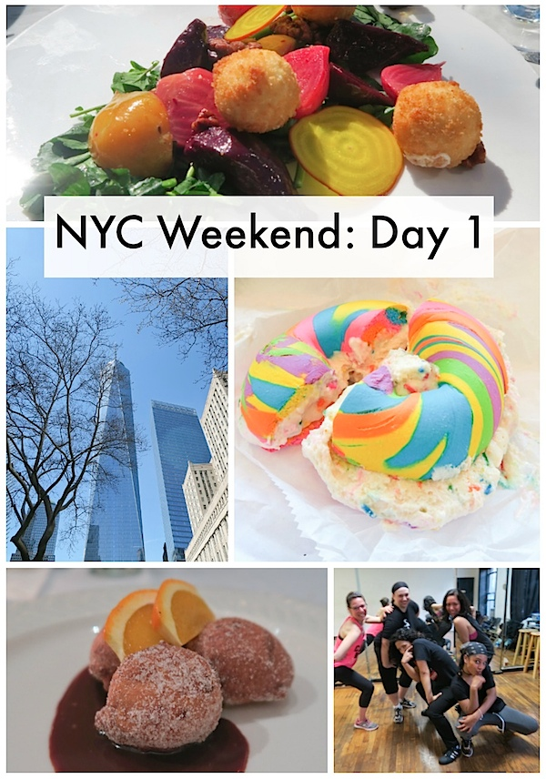 NYC Weekend with Friends: Day 1