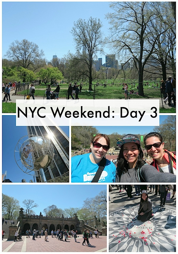 NYC Weekend with Friends: Day 3