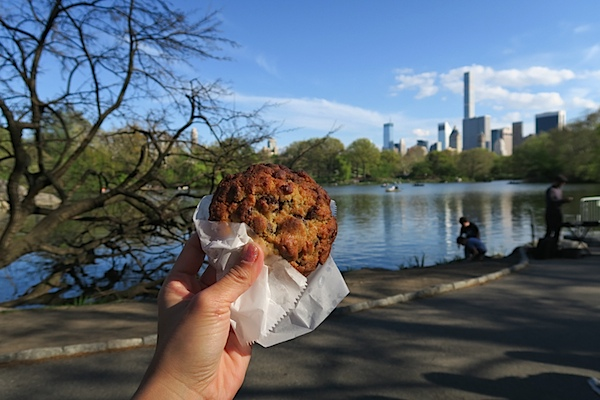 Levain Bakery and Central Park NYC