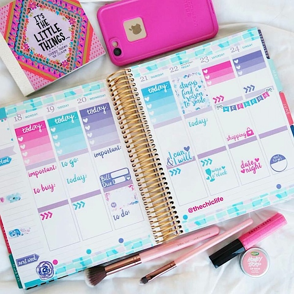 Planner Decorations April 2016 (Erin Condren Vertical)
