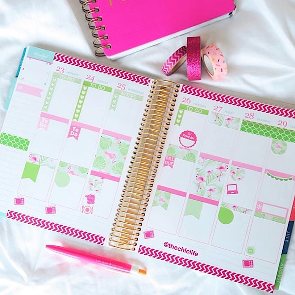 Planner Decorations May 2016 (Erin Condren Vertical)