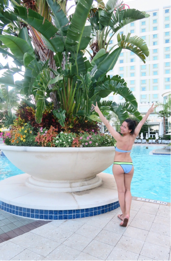 Zumba Convention 2016 (Day 0 Travel and Pool Day)