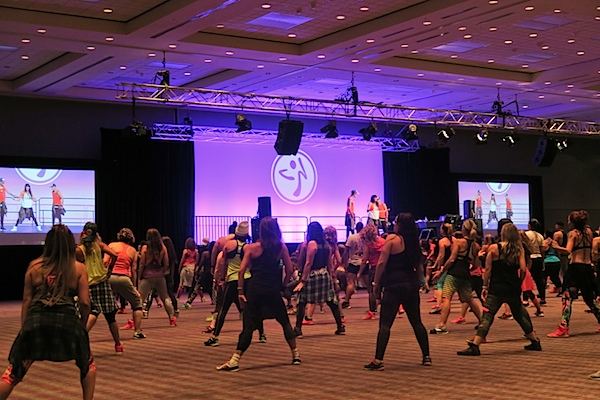 Zumba Convention 2016 Day 1 (Latin Pop, Mexican Fiesta, and Kass Martin's Master Class)
