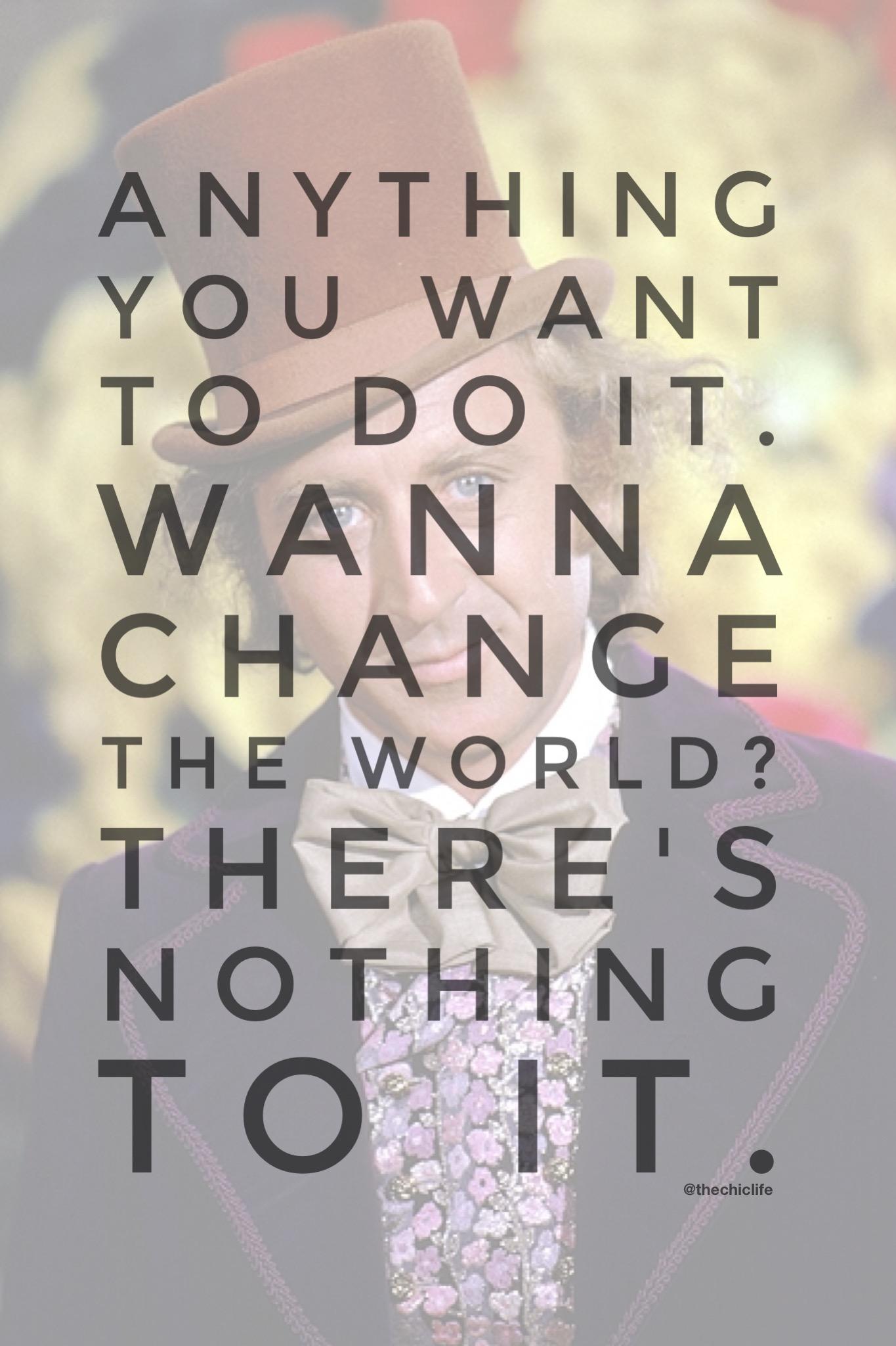 Want to Change the World {Motivation Monday}