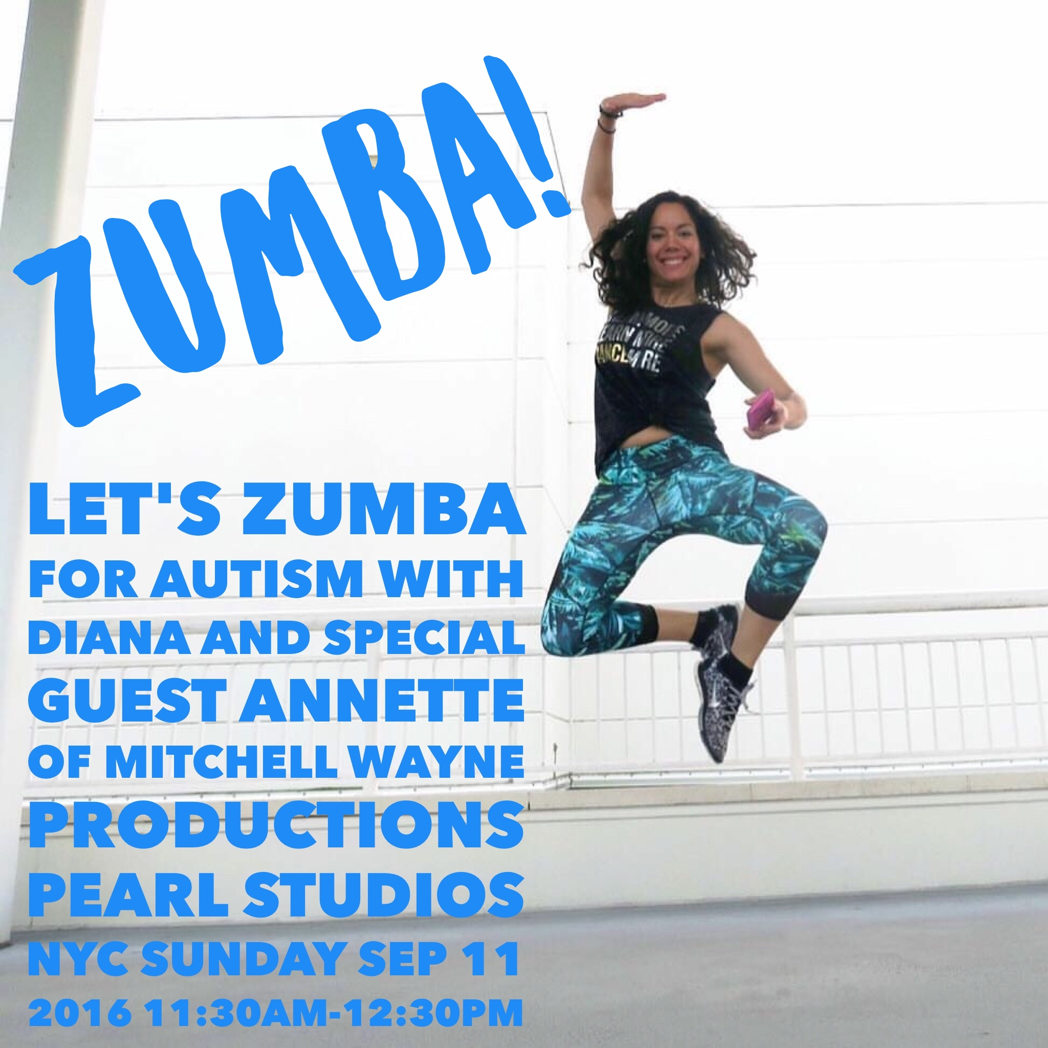 Let's Zumba for Autism (Sunday 9.11.16)