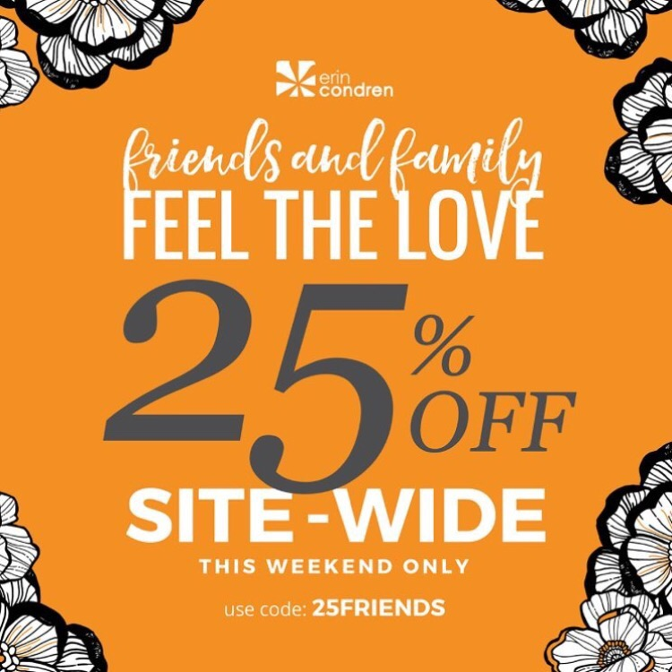 Erin Condren Friends and Family Discount