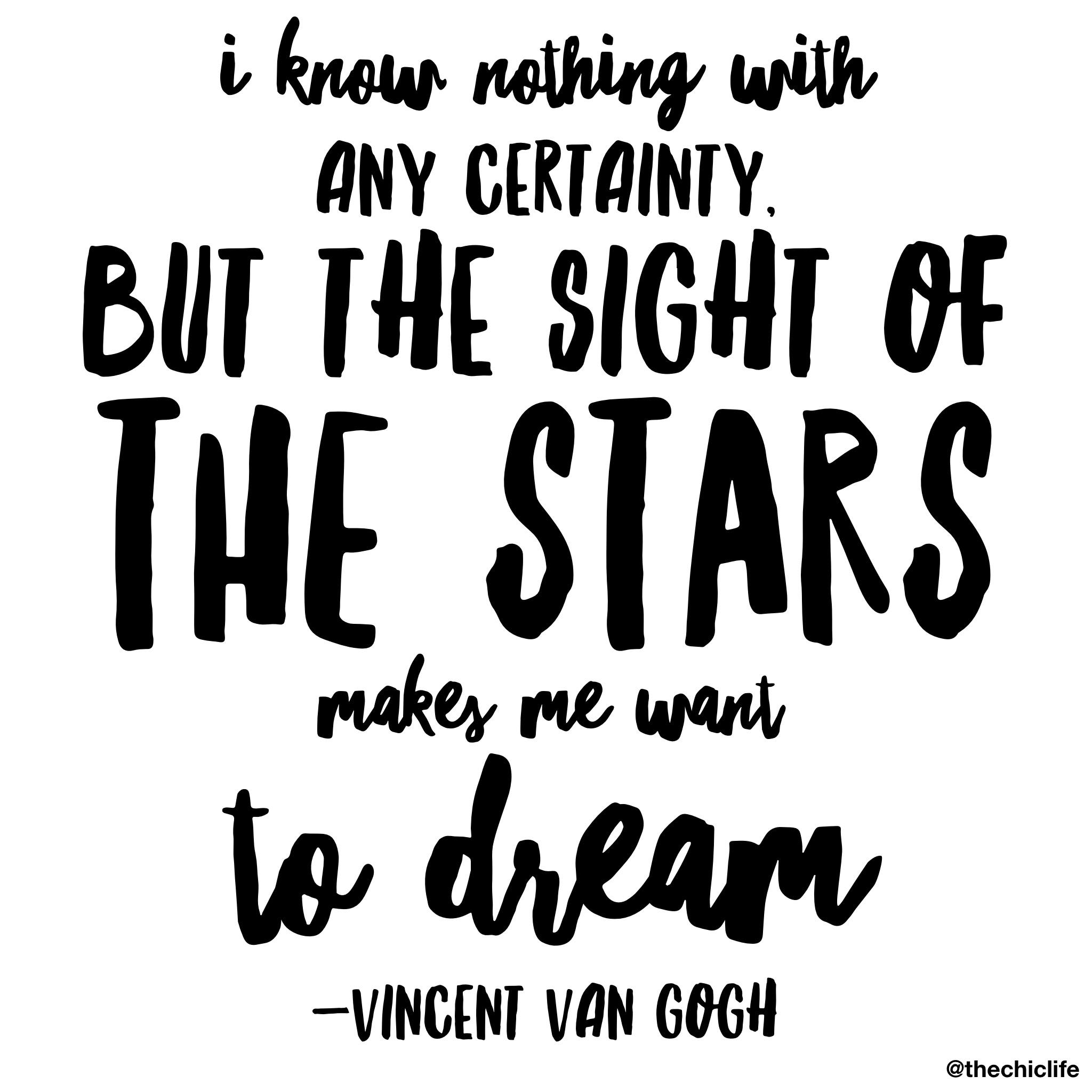 Dream big, baby!