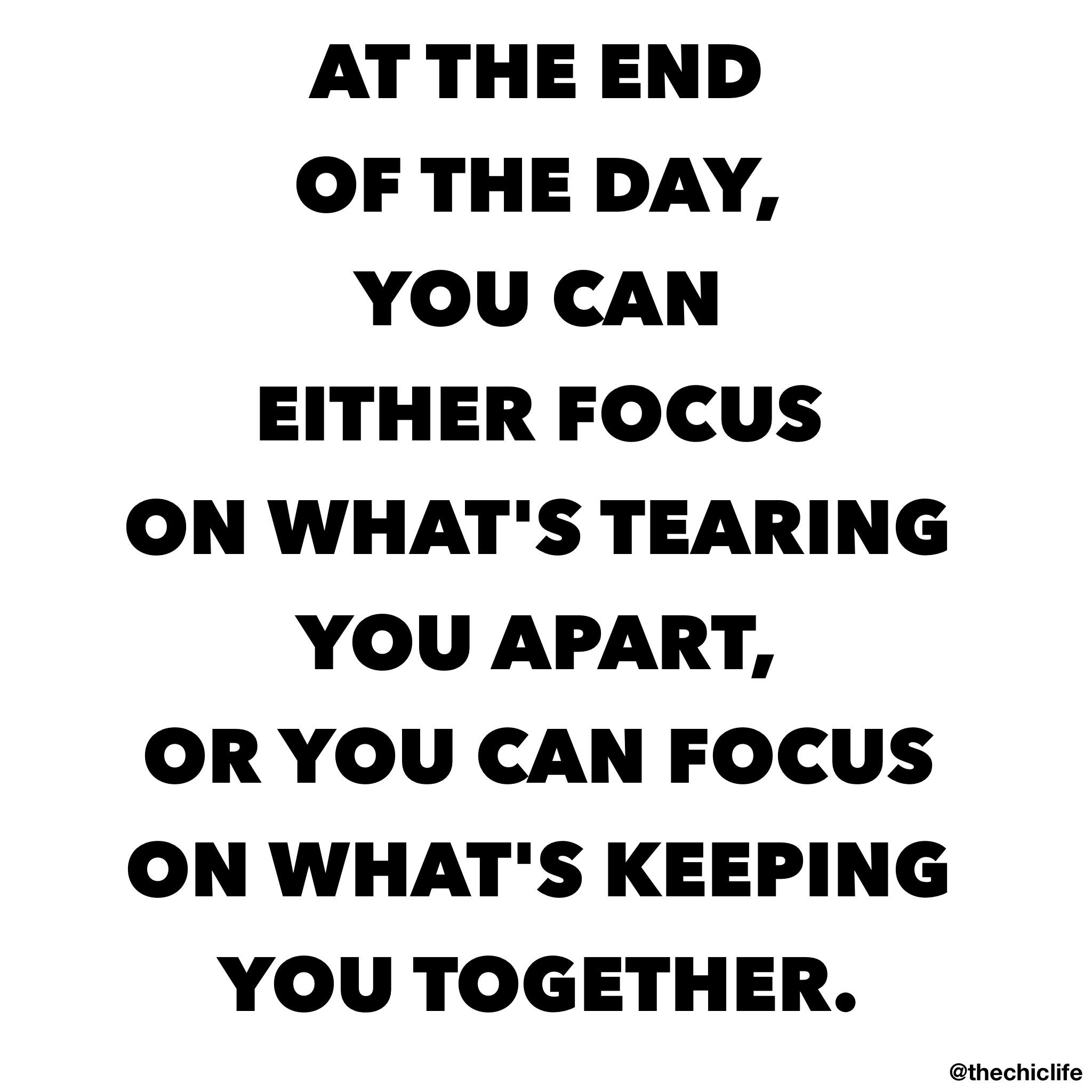 Choose Your Focus