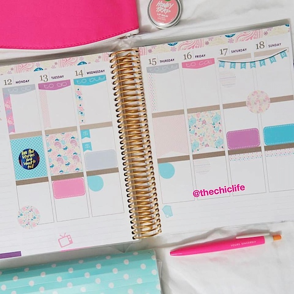 Planner Decorations September 2016 (Erin Condren Vertical)