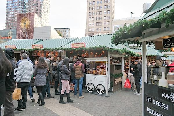 Union Square Holiday Market NYC