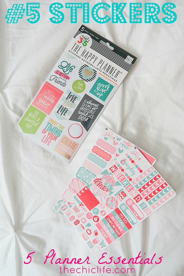 5 Essential Planner Supplies