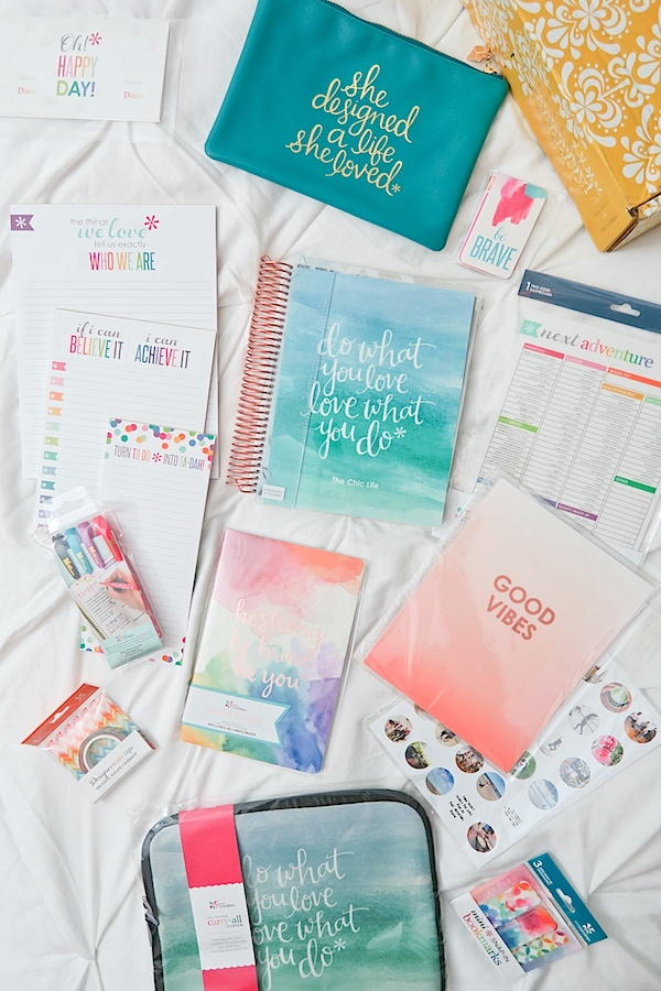 Erin Condren LifePlanner 2017 Unboxing (Vertical and Neutral Layout)