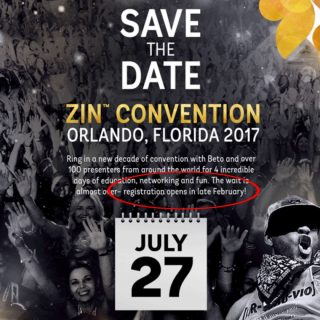 Zumba Convention Registration 2017 Preview