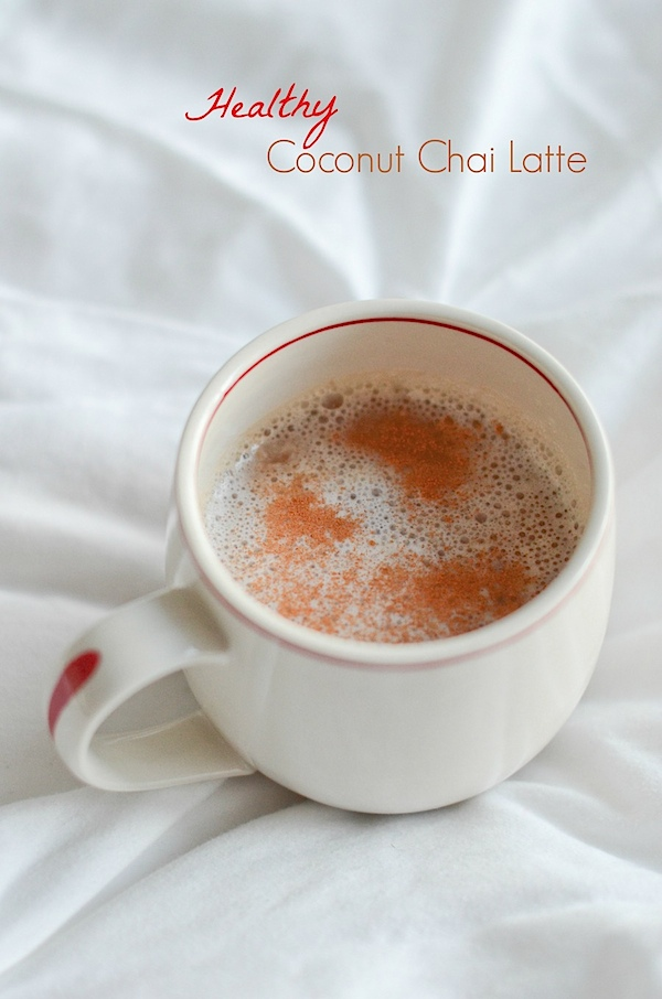 Healthy Coconut Chai Latte Recipe